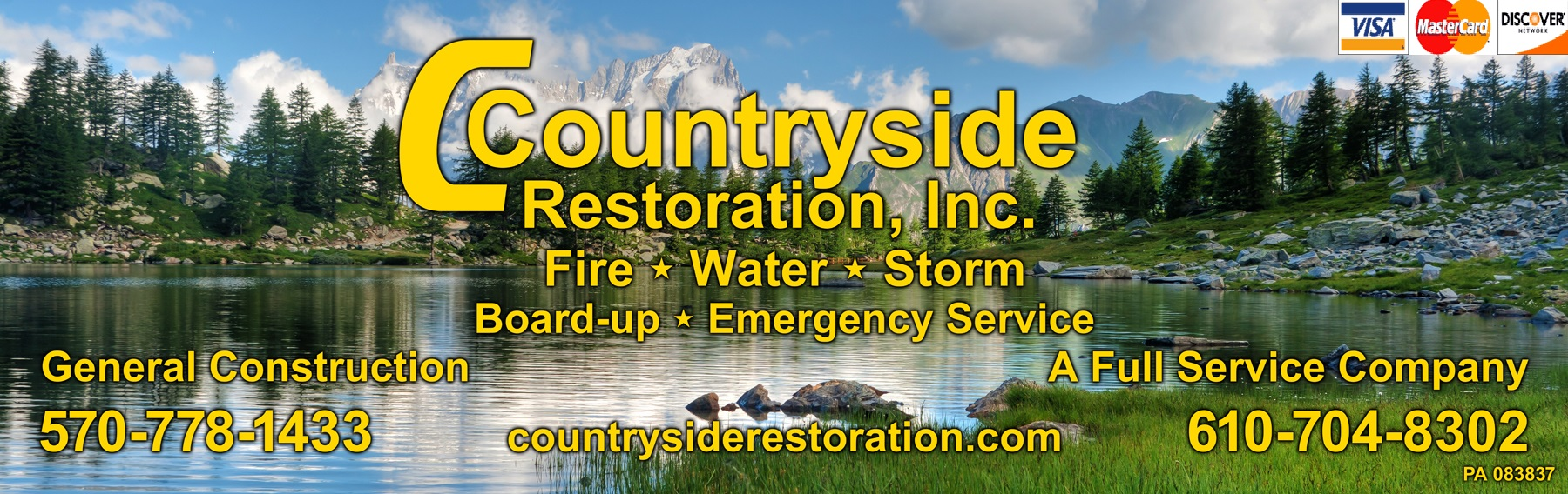 Welcome to Countryside Restoration